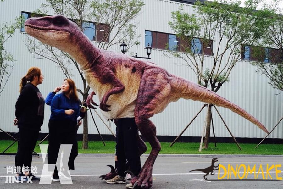Realistic Animatronic dinosaur costume for sale