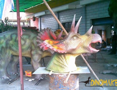Realistic waterproof Animatronic dinosaur model for sale
