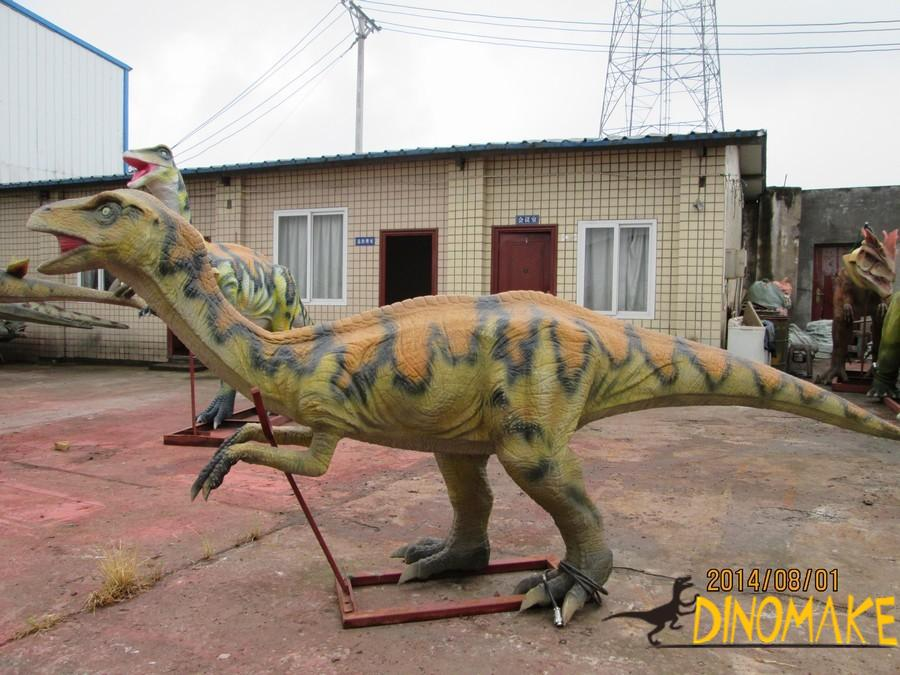 Realistic Animatronic dinosaur product party in China