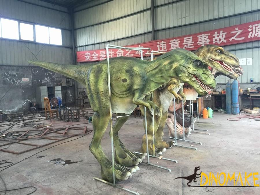 Realistic t-rex walking dinosaur costumes