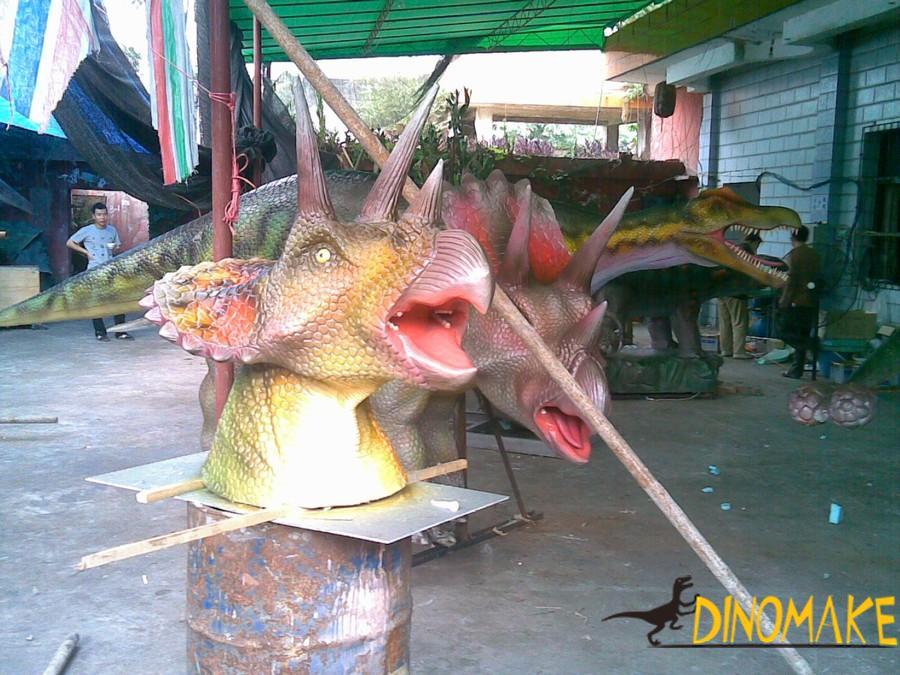 Realistic waterproof Animatronic dinosaur models for sale
