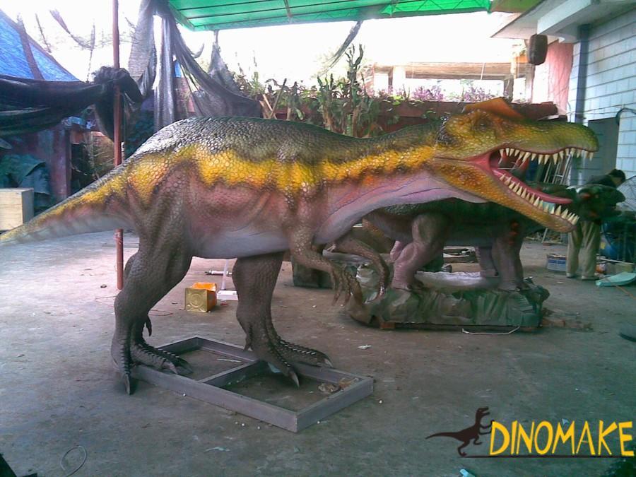 Realistic waterproof Animatronic dinosaurs model for sale