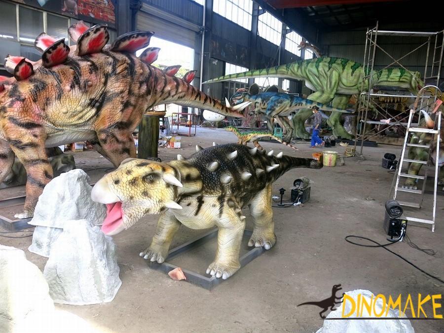 Robotic Animatronic dinosaur for Dinosaur Park