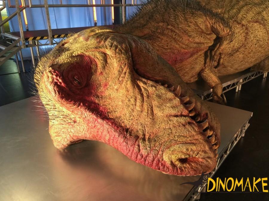 Russian Animatronic dinosaur order in progress