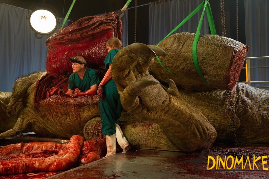 Russian Animatronic dinosaur