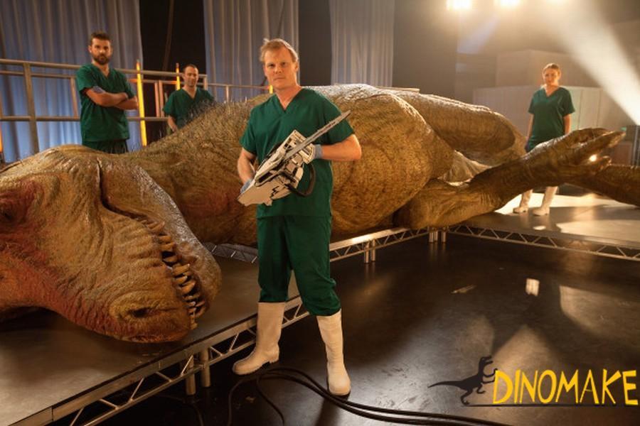 Russian Animatronic dinosaurs order in progress