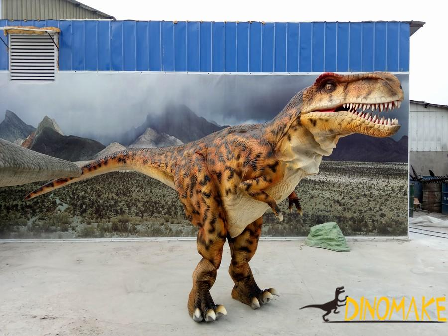 Some Animatronic dinosaur costume sold during Christmas