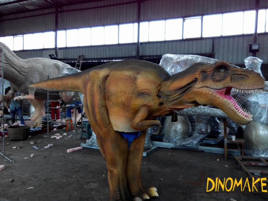 Some Animatronic dinosaur costumes sold during Christmas