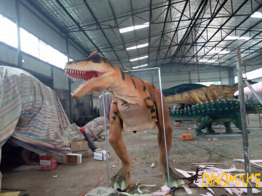 Stage role playing Animatronic dinosaur costume T-rex