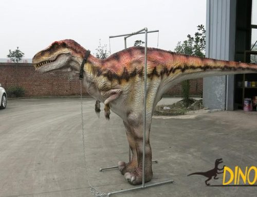 T-Rex Walking With Animatronic Realistic Dinosaur Costume