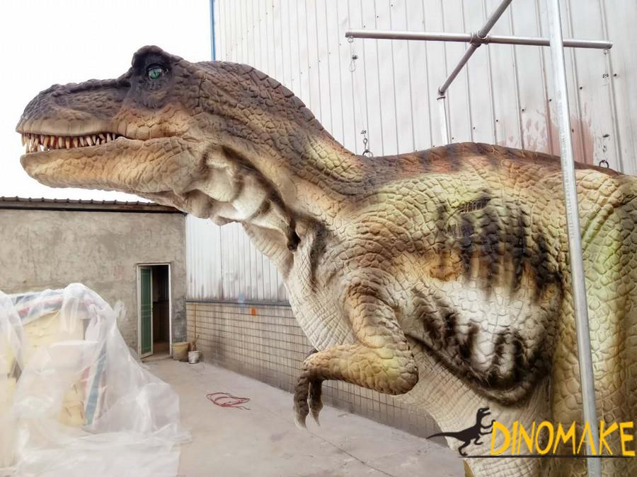 T-Rex walking dinosaurs costume