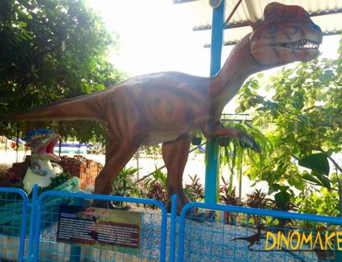 The Animatronic dinosaur robot was successfully developed