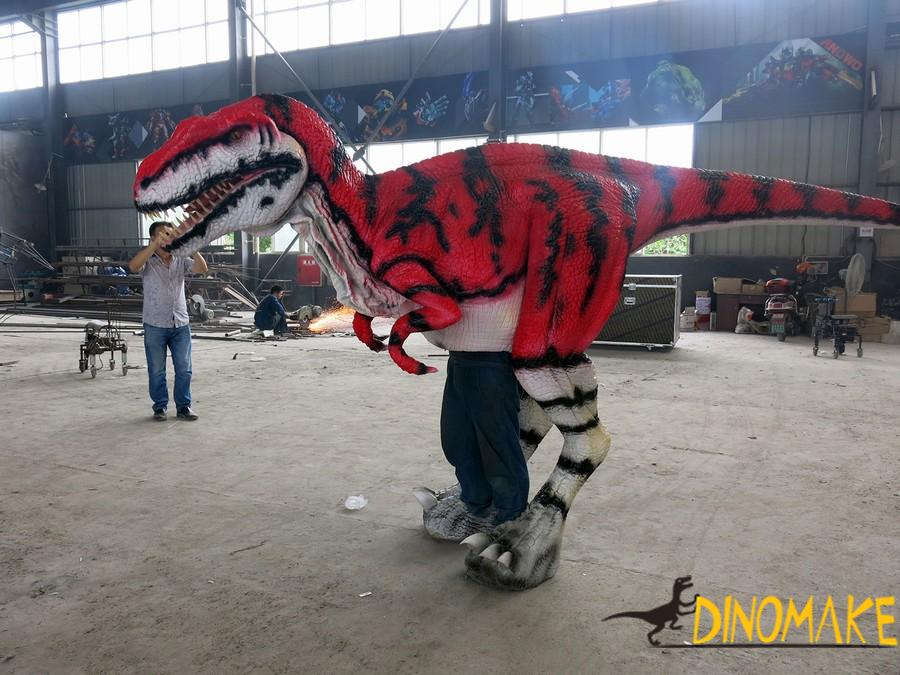 The New Realistic walking dinosaur costume