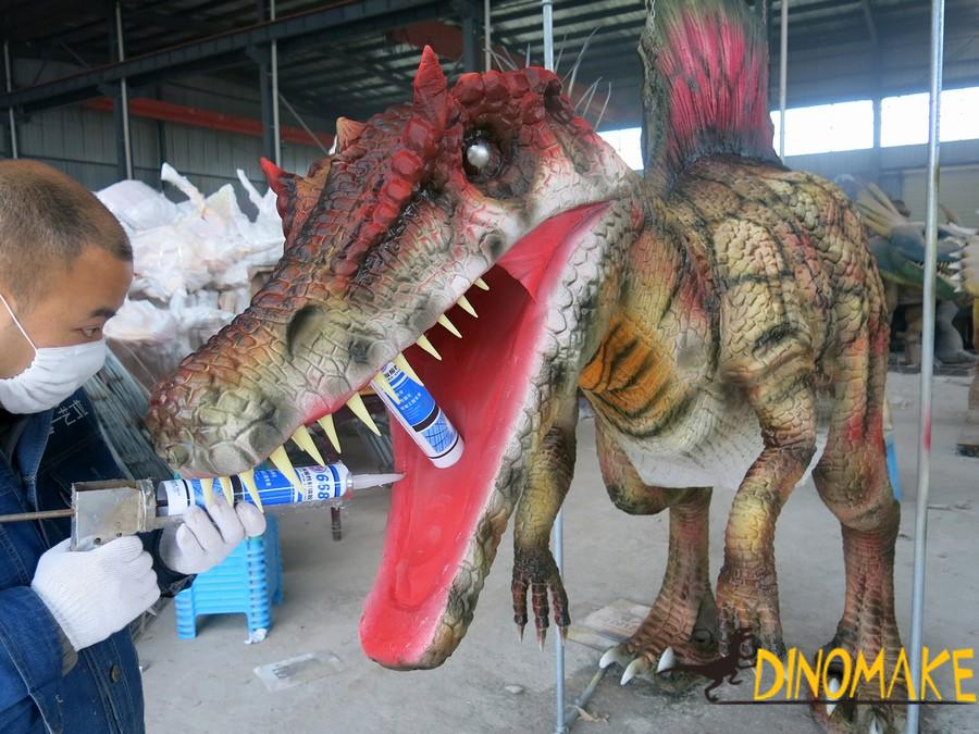 The New Realistic walking dinosaur costumes