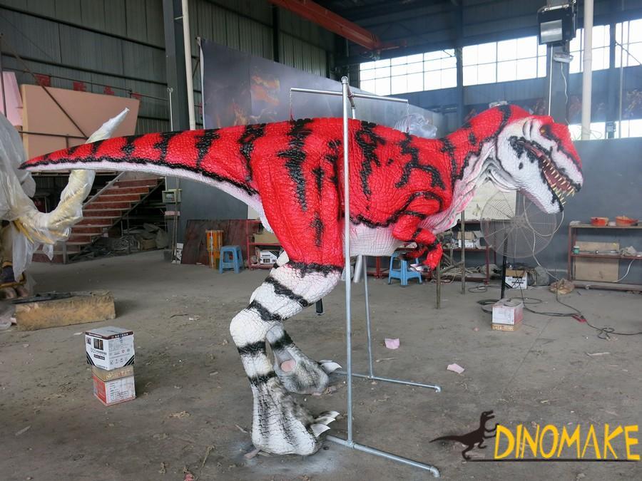The T-Rex Animatronic dinosaur costume of USA life-size handmade
