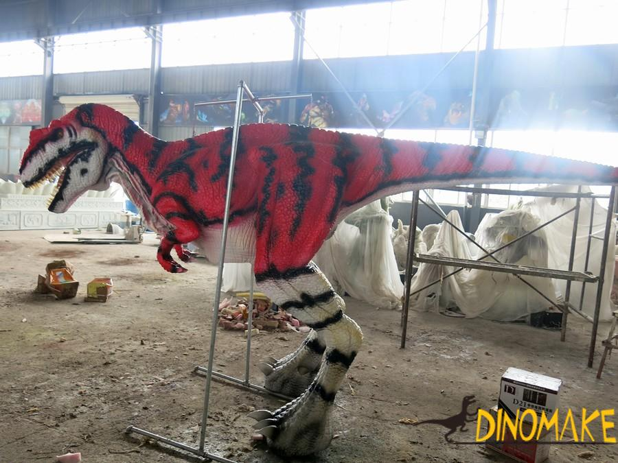The T-Rex Animatronic dinosaur costume of USA