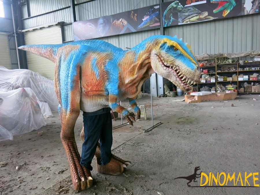 The Walking And Realistic dinosaur Costume