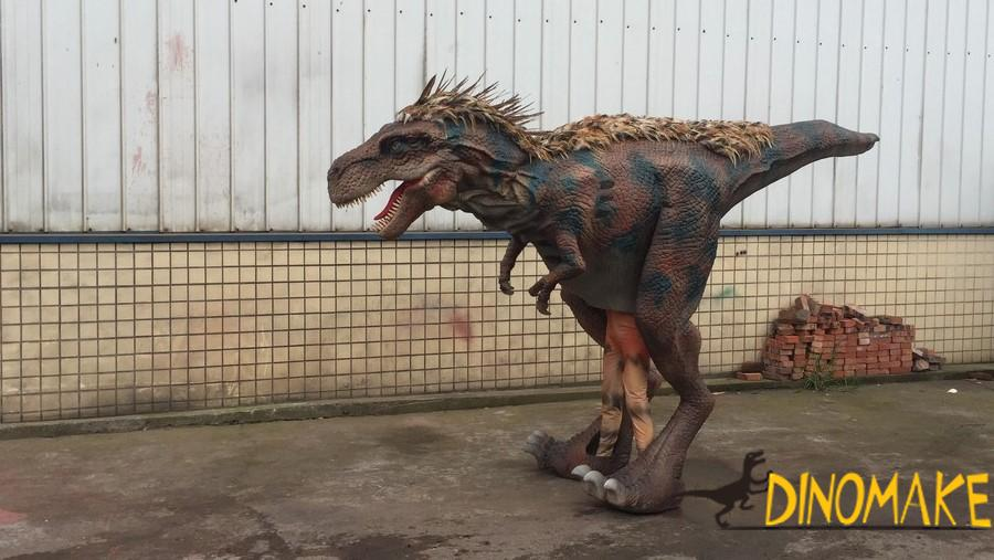 The realistic walking dinosaur costume of sale