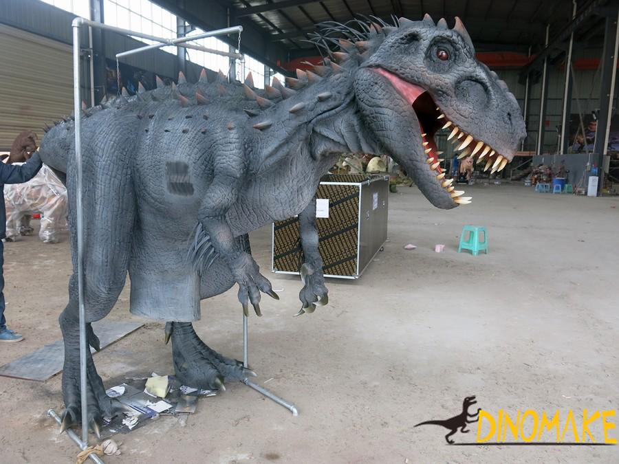 The realistic walking dinosaur costumes of sale