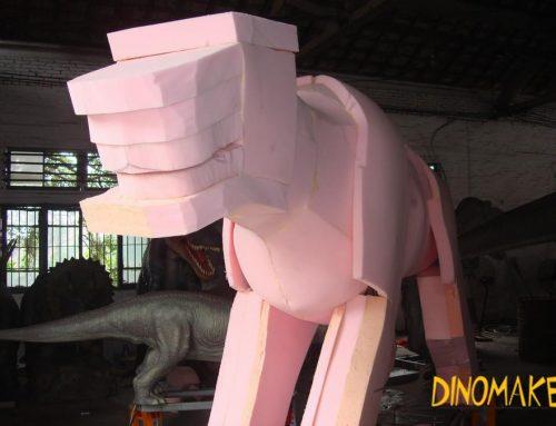 Theme Park Carnivorous Animatronic Dinosaur Tyrannosaurus Rex