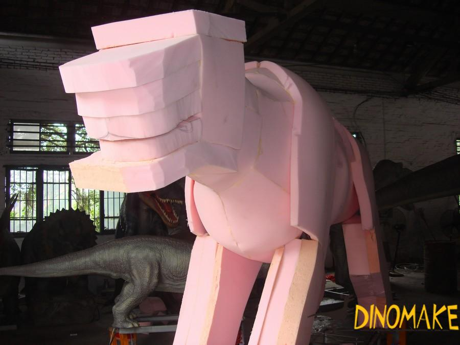 Theme Park Carnivorous Animatronic Dinosaur T-Rex