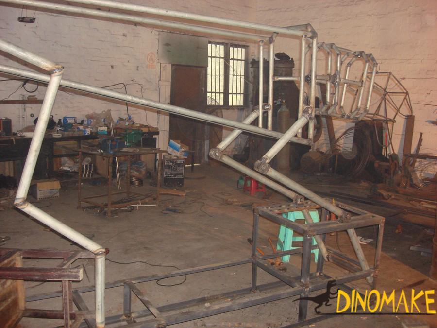 Theme Park Carnivorous Animatronic Dinosaur