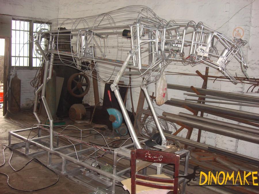 Theme Park Carnivorous Animatronic Dinosaurs Tyrannosaurus Rex