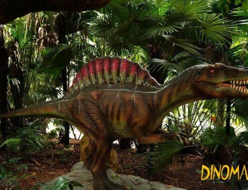 Theme park dinosaur game Animatronic Dinosaur