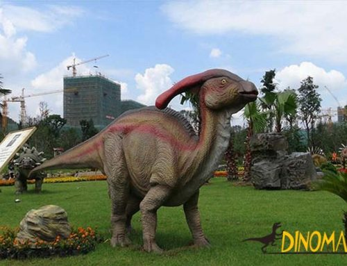 Theme park professional equipment entertainment Animatronic dinosaur