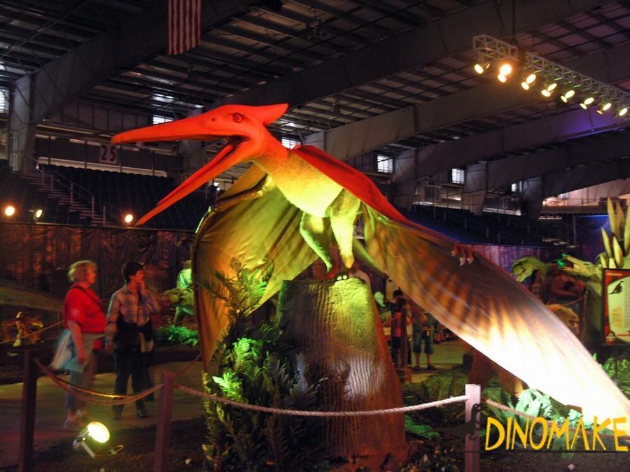 Theme park Animatronic dinosaur pterodactyl
