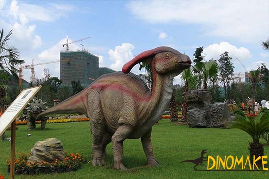 Theme park Animatronic dinosaur