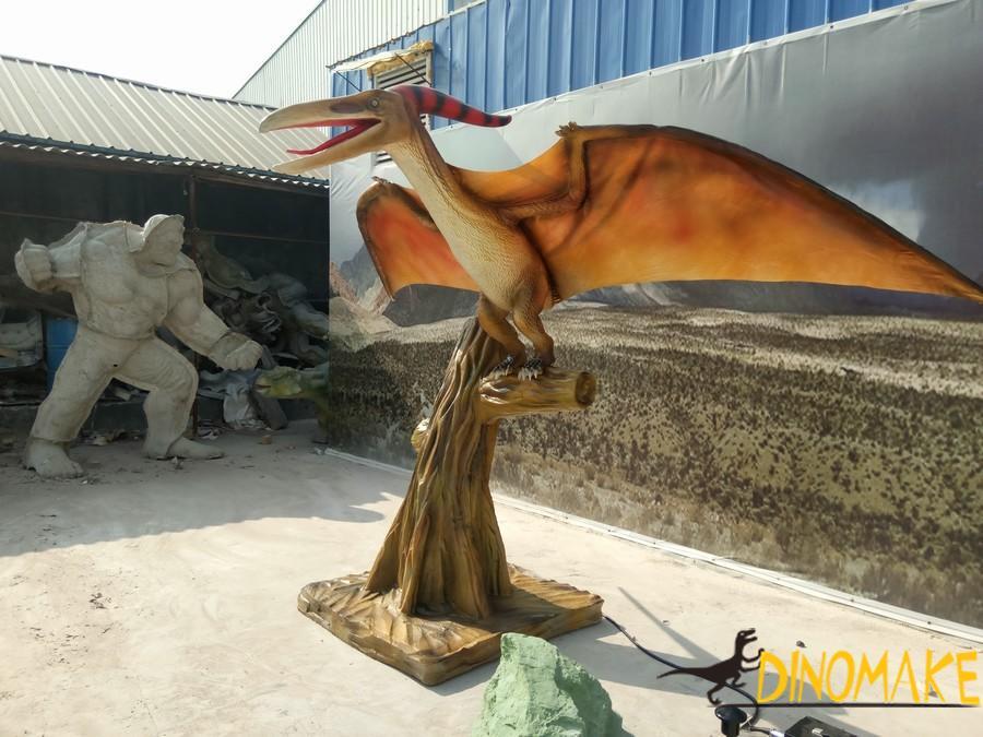 Theme park Animatronic dinosaurs pterodactyl