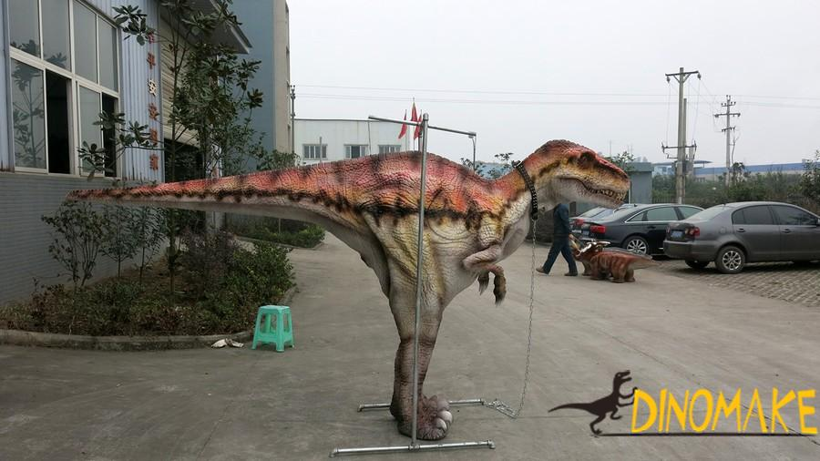 Theme park animatronic walking costume of high quality mechanical