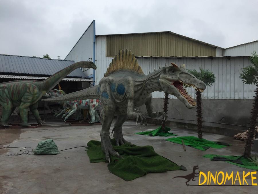 Theme park dinosaur game Animatronic Dinosaurs