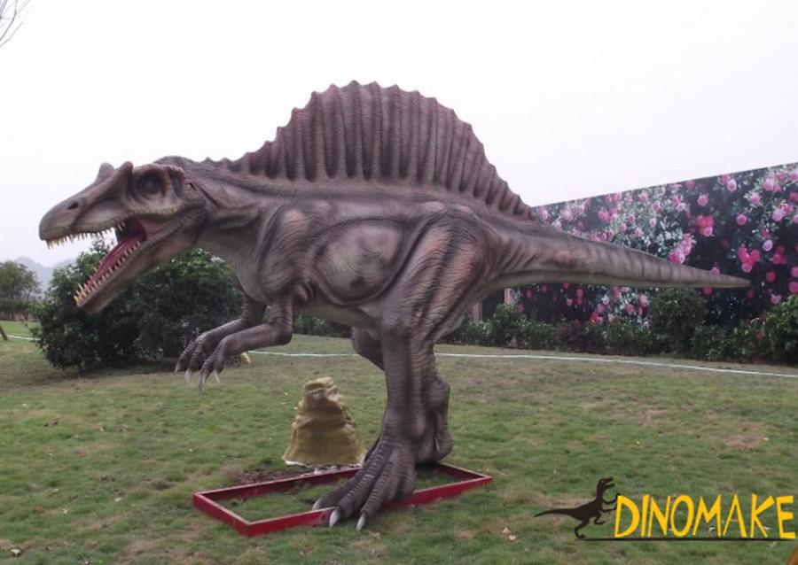 Theme park game Animatronic Dinosaur