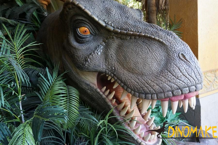 Theme park make Animatronic Dinosaur Head T-Rex