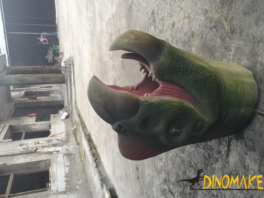 Theme park make Animatronic Dinosaur Head of T-Rex