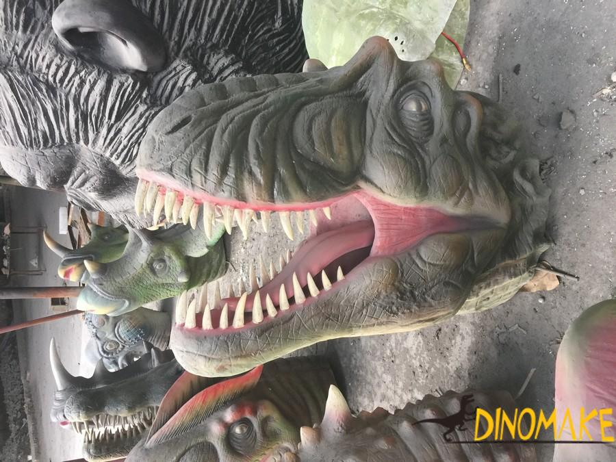 Theme park make Animatronic Dinosaur T-Rex