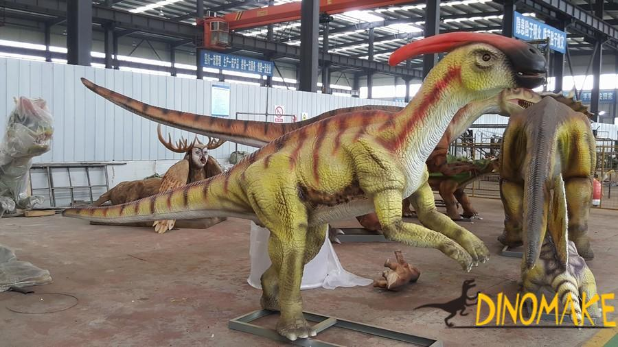 Theme park professional equipment Animatronic dinosaur