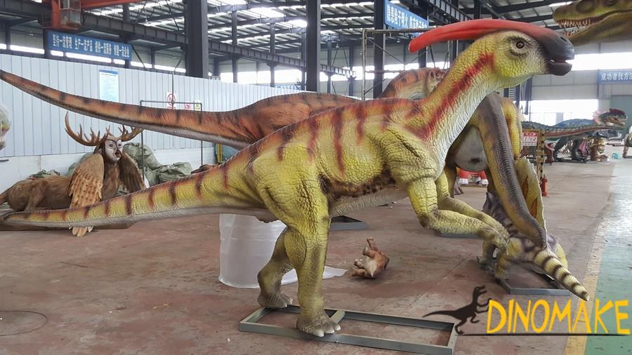 Theme park professional equipment entertainment Animatronic dinosaur