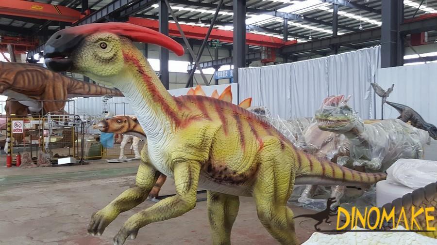 Theme park professional equipment entertainment Animatronic dinosaurs