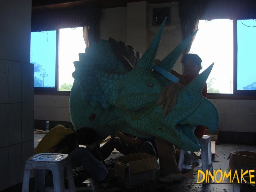 Theme park real Animatronic dinosaur