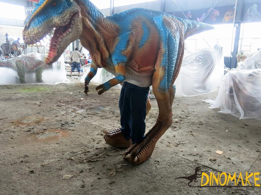 Used for adult performance of dinosaur Costume