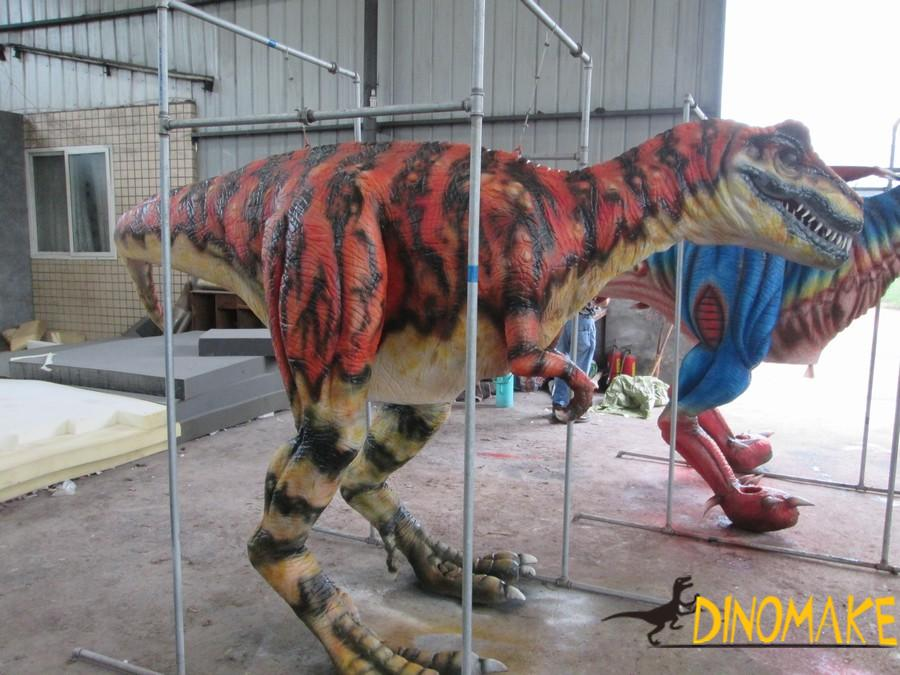 Walking Animatronic dinosaur costume adult can operate
