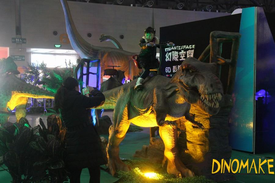 Walking Animatronic dinosaur ride for sale