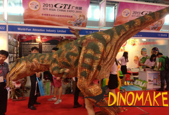 Walking Dinosaur Costume And Dinosaure Suit for Sale in China