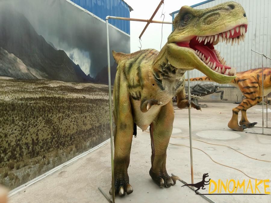 Walking Real Animatronic Dinosaur Custome