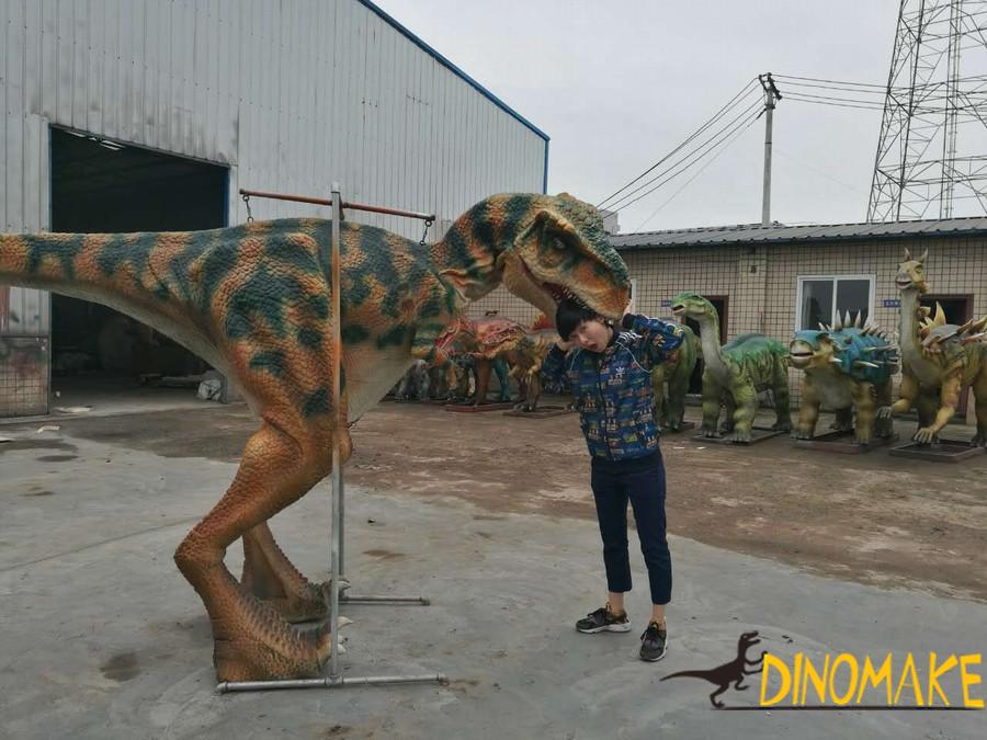 Walking dinosaur costume The best popularity