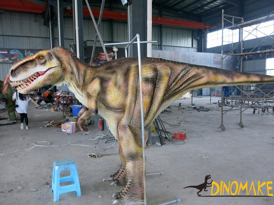 Walking dinosaur costume in Theme park high quality mechanical