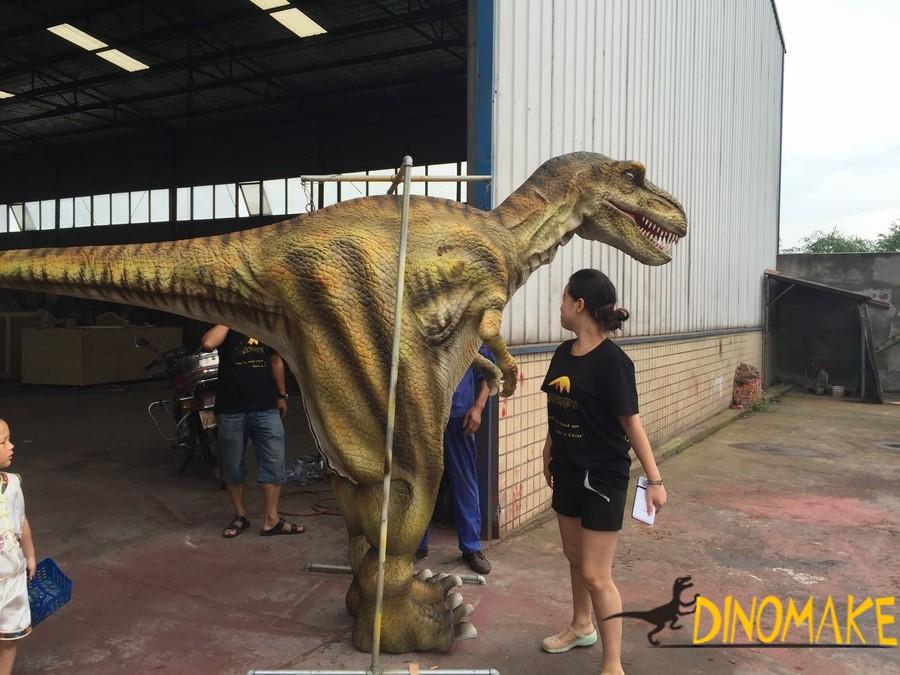 Walking dinosaur costume of The best popularity